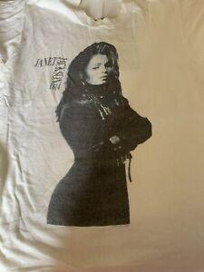 janet jackson rhythm nation shirt Xl