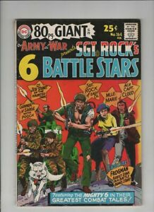 OUR ARMY AT WAR #164 80 PAGE GIANT #19 Fine-, Joe Kubert cover & art, Sgt Rock,
