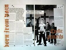 COUPURE DE PRESSE-CLIPPING :  BORN FROM PAIN [2pages] 2006 Karl Fieldhouse,War