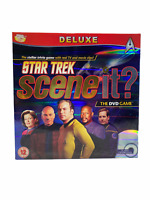 Star Trek Scene It? Deluxe version. The DVD Game by Screen Life Games -Complete-