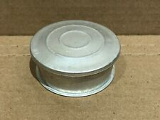 Vintage Tin Metal Collapsible Drinking Cup w/ Lid