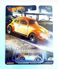 Hot Wheels 1/64 3 inch Volkswagen Classic Bug Boulevard Series