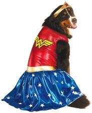 Wonder Woman DC Superhero Big Fancy Dress Up Halloween Pet Dog Cat Costume
