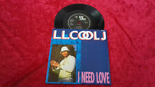 "L.L. Cool J i need love UK 7"" vinyl single"