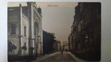 Nový Jičín Judaica Rare Old Postcard Jewish Synagogue 1900 Czech Republic Israel
