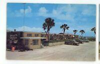 West Indies Court Motel Roadside DAYTONA BEACH FL Vintage Florida Postcard