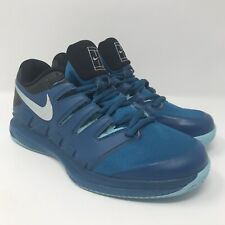 216cc32df940 Nike Air Zoom Vapor X Clay Court Tennis Shoes AA8021-314 Blue Men s Size 6.5