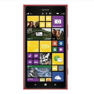 "Unlocked Original Nokia Lumia 1520 3G&4G Wifi NFC Wireless 20MP 6"" Charging 16GB"