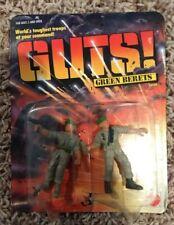 1986 Mattel GUTS! Green Berets E.Z. Squeeze & Detail    2 Figure Set NIB