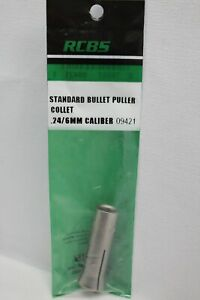 NEW NO PACKAGE!!! RCBS BULLET PULLER COLLET 24/6MM CALIBER 09421