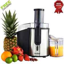 Electric Fruit Juicer Vegetable Juice Citrus Extractor Machine Maker Blender NEW