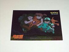 #17 Underwater Adventure Foil Holo 1999 Topps Pokemon Movie Animation Edition 2P