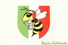 "VESPA Dekor Aufkleber ""Italy Wappen / Wespe"" Sticker Beinschild Fahne Italy V50"
