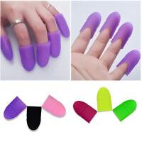 10pcs Nail Art UV Gel Polish Remover Soak Off Clips Caps Wrap Nail Accessories