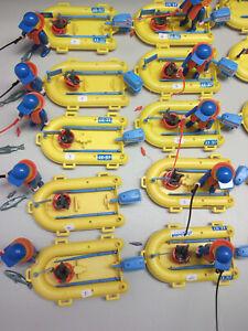 Playmobil Angler Figur mit Boot ZUM AUSSUCHEN Angel Fischer Paddel Fische