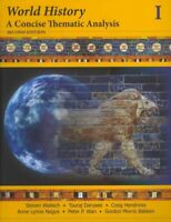 World History : A Concise Thematic Analysis, Paperback by Wallech, Steven; Da...