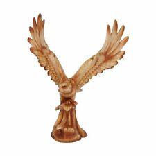 More details for naturecraft wood effect figurine - osprey