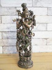 Krishna Hinduismus Gott Indien Hindugott Poly Sammler Figur 37 cm