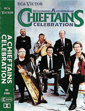 CHIEFTAINS CELEBRATION CASSETTE ALBUM VAN MORRISON NANCI GRIFFITH RCA VICTOR