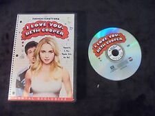 """USED DVD Movie """"I Love You Beth Cooper"""""""