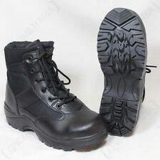 Black Security Half Boots - Winter Thinsulate Lined Army Military Combat Boots