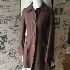 Anthropologie Tulle Brown Jacket Size Large