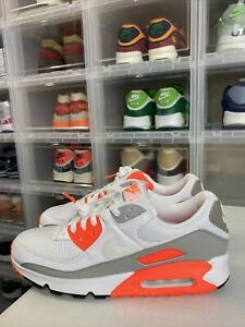 Nike Air Max 90 Orange Sneakers for Men for Sale   Authenticity ...