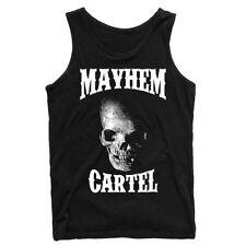 Cotton Biker Sleeveless T-Shirts for Men