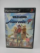 Wild Arms: Alter Code F (Sony PlayStation 2 PS2) USA - w/Anime DVD NO manual