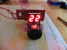 CB Radio channel selector display LEDs : (RED or GREEN)