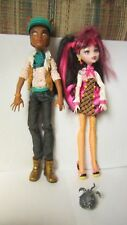 Monster High Doll Lot Forbitten Love Draculaura Clawd Wolf Outfit Shoes Hat Pet