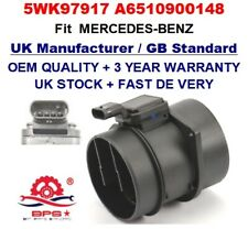 Mass Air Flow meter sensor 5WK97917 A6510900148 for MERCEDES BENZ OEM QUALITY