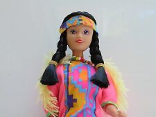 Pretty Native American Indian Doll