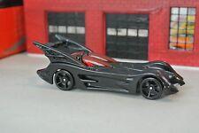 Hot Wheels Batman Batmobile - Black - Loose - 1:64