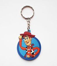 Toy Story  Woody Keyring Bagcharm Keychain Zip puller Rubber PVC UK Seller