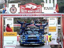 Tommi Makinen Subaru Impreza WRC2001 Winner Monte Carlo Rally 2002 Photograph 3