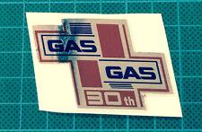 GasGas  TXT or GasGas EC 30th Anniversary Chrome Decal, MX Quality Materials
