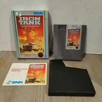 Iron Tank Invasion of Normandy - 1988 NES Game - Complete CIB - SNK Nintendo