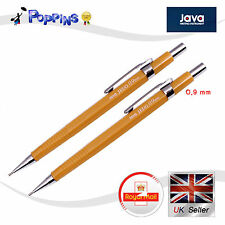 2 X New Genuine Java 0.9mm Jedo Mechanical Pencil For Drafting Office  UK Stock