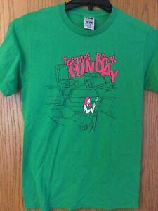 Taking Back Sunday. Green Shirt.  S/Ch/P