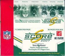 2007 Score Football Complete Team Set - Jacksonville Jaguars - 14 Cards