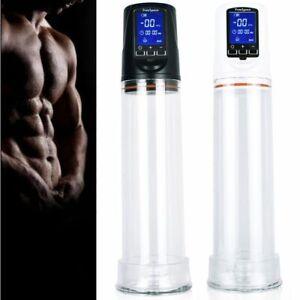 Penis Stretcher Glans Enlarger Growth Vacuum Pump ED Helper & Sleeve AU Stock