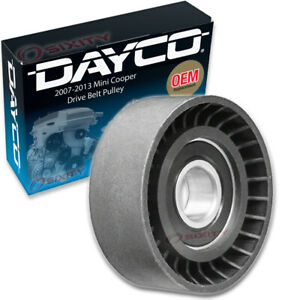 Dayco Drive Belt Tensioner Pulley for 2007-2013 Mini Cooper 1.6L L4 Engine zs