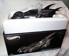 MATTEL Hot Wheels Elite BCJ98 BATMAN FOREVER BATMOBILE diecast model 1:18th New