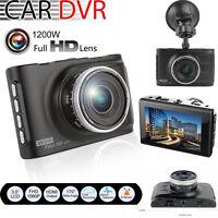 "3"" HD 1080P Night Vision Car DVR CCTV Dash Camera  Vehicle Video Cam Recorder"