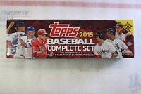 2015 Topps Baseball Factory Set Sealed Complete Box Hobby Edition Bonus Pack