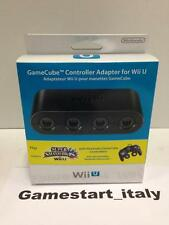 GAMECUBE CONTROLLER ADAPTER - OFFICIAL NINTENDO WII U - NEW - AVAILABLE NOW -