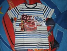 ti shirt cars taille 6- 8 ans