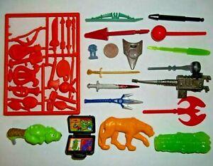 Action Figure Toy Parts Accessories Lot