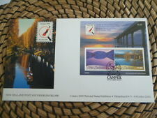 New Zealand 2000 fdc Canpex 2000 Stamp Exhibition      mini sheet